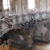 Detalle interior de la cúpula